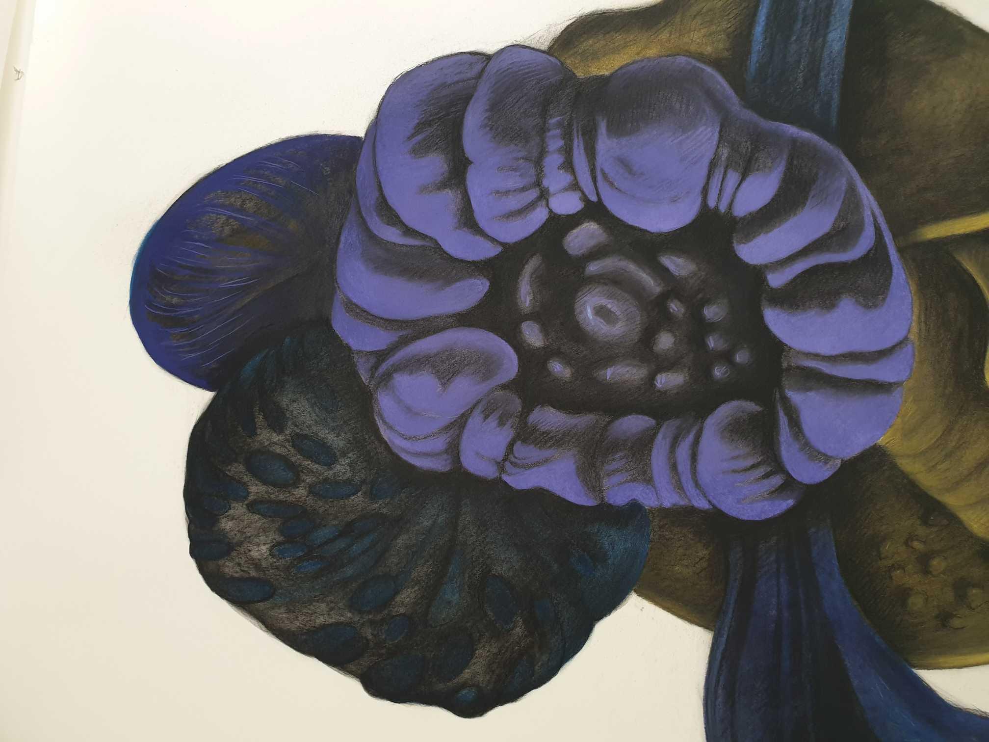 Méduses – 150 x 150 cm